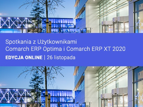 Spotkania Comarch ERP Optima